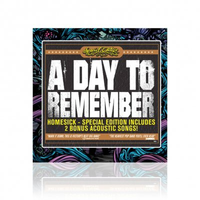 a-day-to-remember - Homesick | CD (Special Edition)