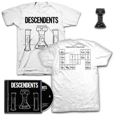 shop - Hypercaffium Spazzinate CD + Hypercaffium T-Shirt + Enamel Pin Bundle