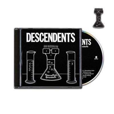 Descendents - Hypercaffium Spazzinate CD + Enamel Pin Bundle