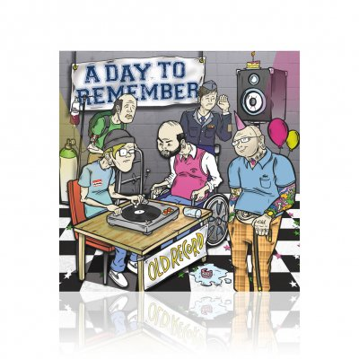 a-day-to-remember - Old Record | CD