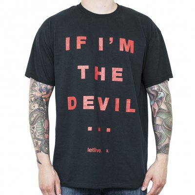 Letlive - Devil Text | T-Shirt