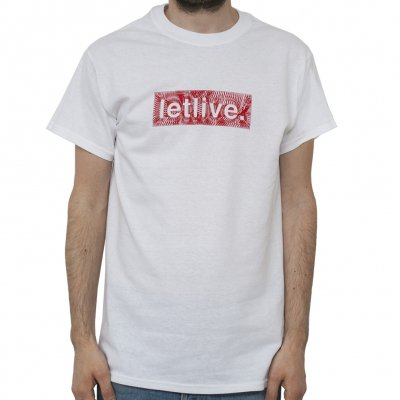 Letlive - String White | T-Shirt