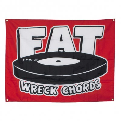 Fat Wreck Chords - Logo | Flag