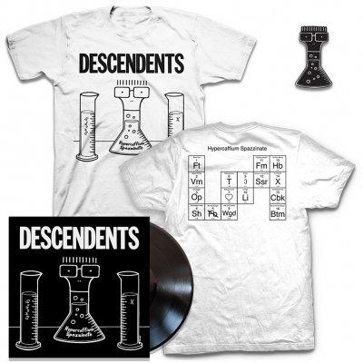 shop - Hypercaffium Spazzinate Black LP + Hypercaffium T-Shirt + Enamel Pin Bundle
