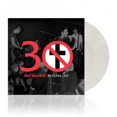 bad-religion - 30 Years Live | Clear Vinyl