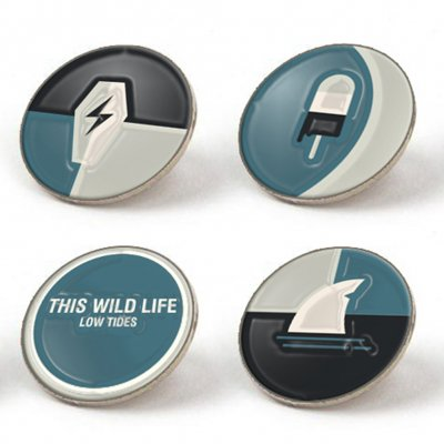 This Wild Life - Low Tides | Enamel Pin Set
