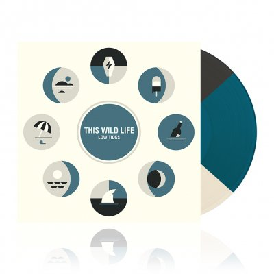 shop - Low Tides | Tri Color Vinyl