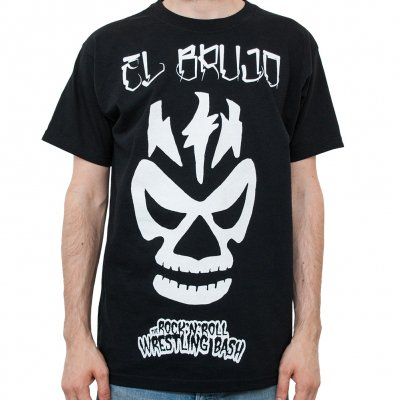 the-rock-n-roll-wrestling-bash - El Brujo | T-Shirt