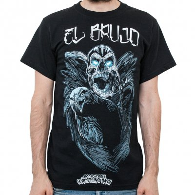 the-rock-n-roll-wrestling-bash - Brujo Crow | T-Shirt