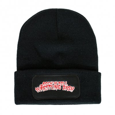 the-rock-n-roll-wrestling-bash - Logo Patch | Beanie