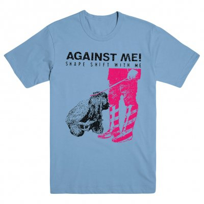 Against Me! - Shape Shift With Me Blue | T-Shirt