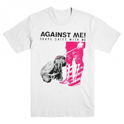 Against Me! - Shape Shift With Me White | T-Shirt