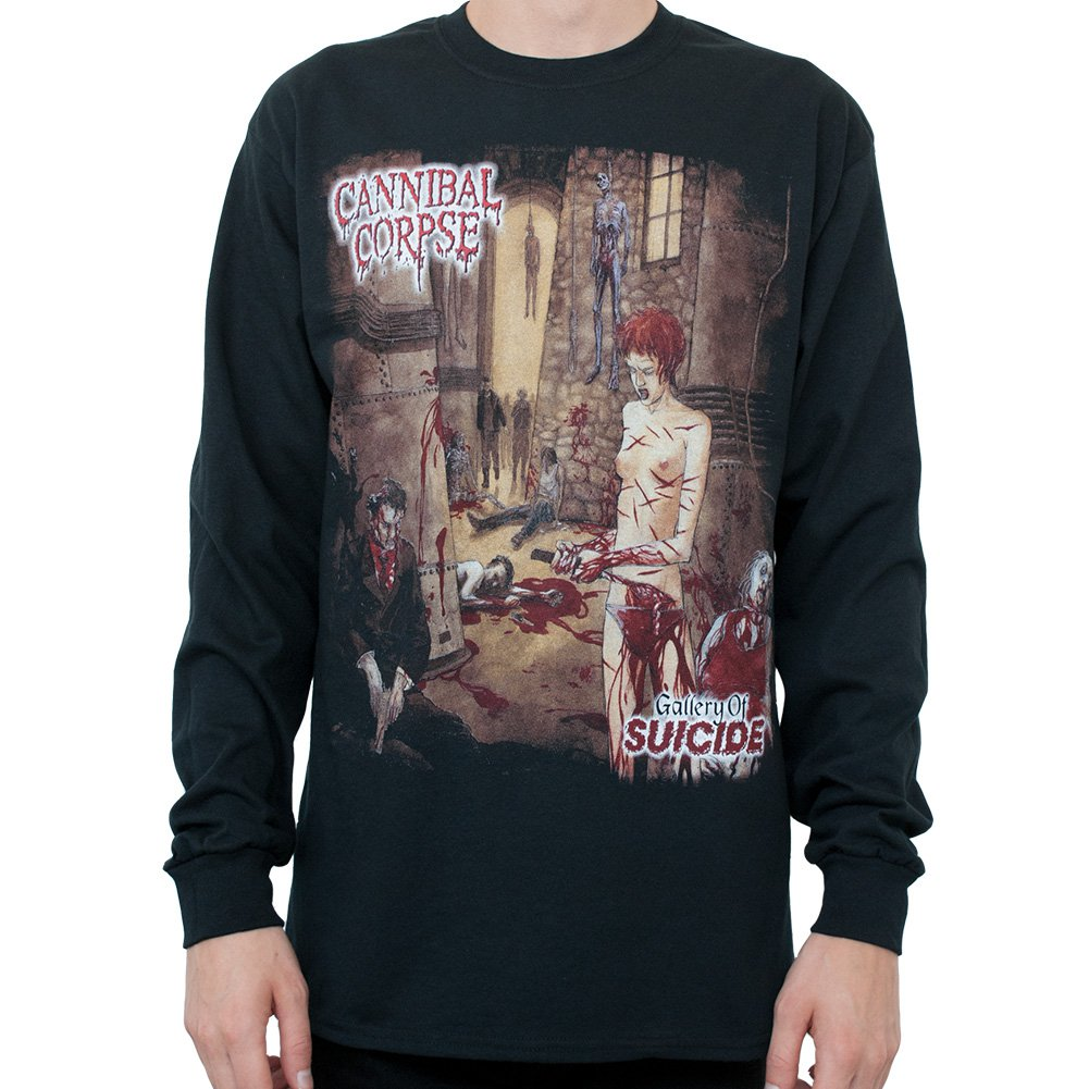 Cannibal Corpse Men/'s  Tomb of the Mutilated T-shirt Black