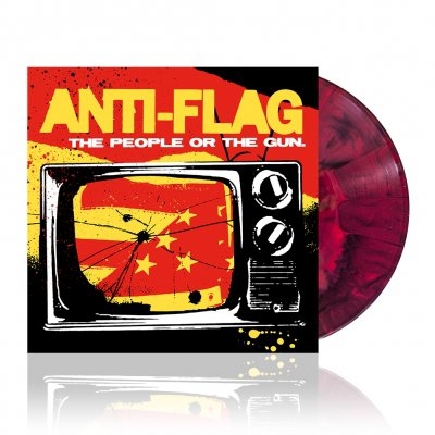 Anti-Flag - The People Or The Gun | Black w/Red Vinyl