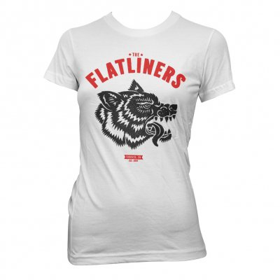 The Flatliners - Wolfhead | Girl Fitted T-Shirt