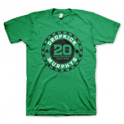 dropkick-murphys - 20th Chip Green | T-Shirt
