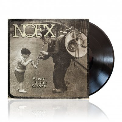 NOFX - First Ditch Effort | Black Vinyl
