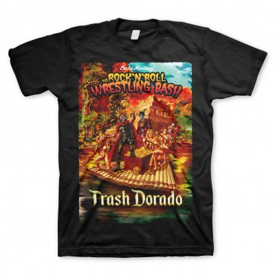 the-rock-n-roll-wrestling-bash - Trash Dorado | T-Shirt