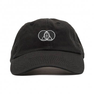 The Glitch Mob - Geometry Logo White | Dad Hat