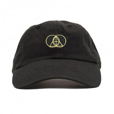 The Glitch Mob - Geometry Logo Gold | Dad Hat