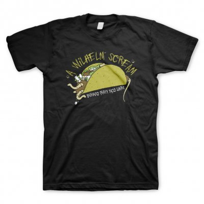a-wilhelm-scream - Taco | T-Shirt