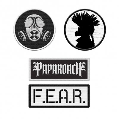 Papa Roach - 4 Patches | Patch Set