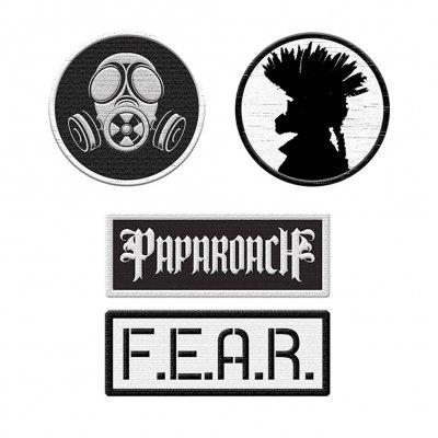 Papa Roach - 4 Patches | Patch Set