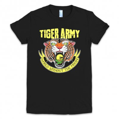 Tiger Army - World Without The Moon | Girl Fitted T-Shirt