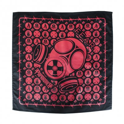 Papa Roach - Gasmask Red | Bandana