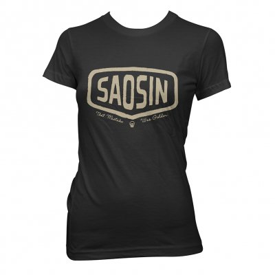 saosin - Gas Station | Girl Fitted T-Shirt
