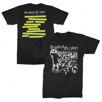 dropkick-murphys - Short Stories Album Black | T-Shirt