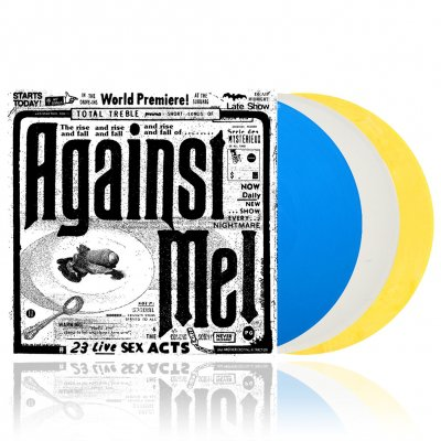 Against Me! - 23 Live Sex Acts | 3xColored Vinyl