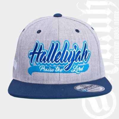 Hallelujah Gray | Yupoong Snap Back