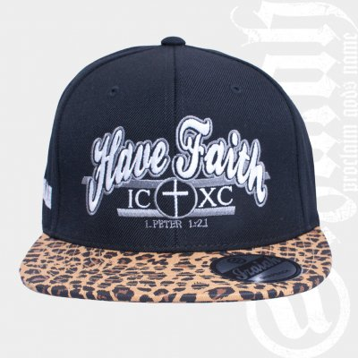 izaiah - Have Faith | Leopard Snap Back