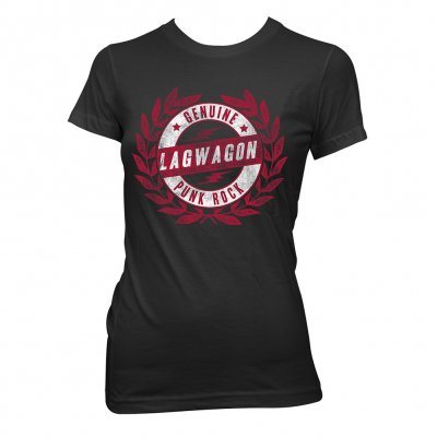 lagwagon - Crest | Girl Fitted T-Shirt