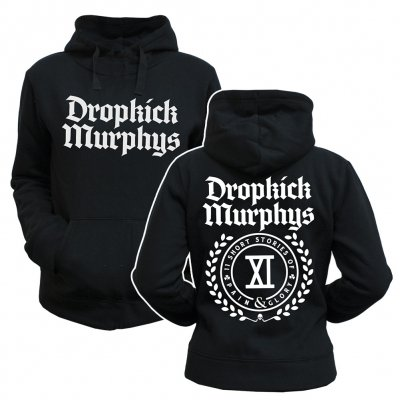 dropkick-murphys - Short Stories Crest | Girl Hoodie