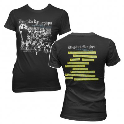 dropkick-murphys - Short Stories Album Black | Fitted Girl T-Shirt