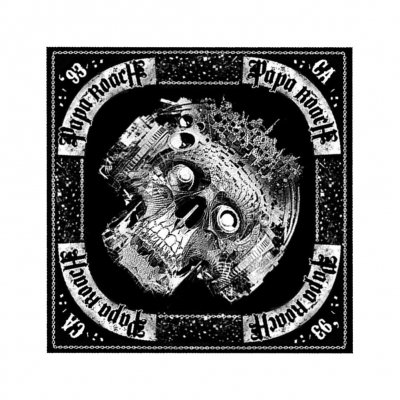 Papa Roach - 93 California Skull | Bandana