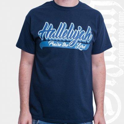 izaiah - Hallelujah Navy | T-Shirt