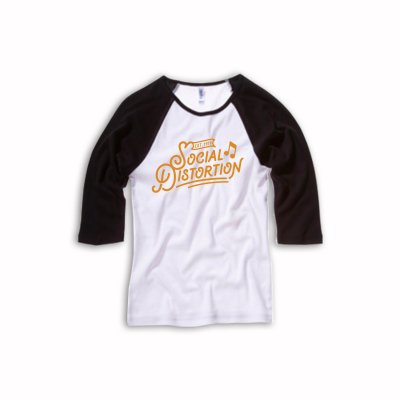 social-distortion - Established | Fitted Girl Raglan