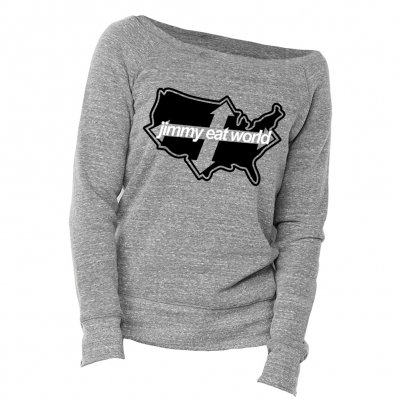 jimmy-eat-world - Across | Girl Sweatshirt