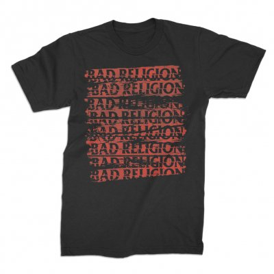 bad-religion - Repeater Black | T-Shirt