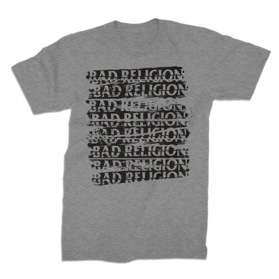 bad-religion - Repeater Gray | T-Shirt