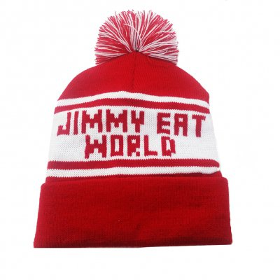 Jimmy Eat World - Logo | Vintage Knit Pom Beanie