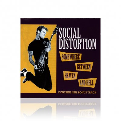 social-distortion - Somewhere Between Heaven And Hell | CD