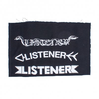 Listener - Arrow, Film, Snake | Large Patch Set