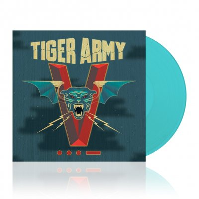 Tiger Army - V | Clear Blue 180g Vinyl