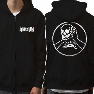 Against Me! - Skull | Zip-Hood