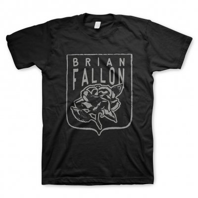 Brian Fallon - Rose Black | T-Shirt