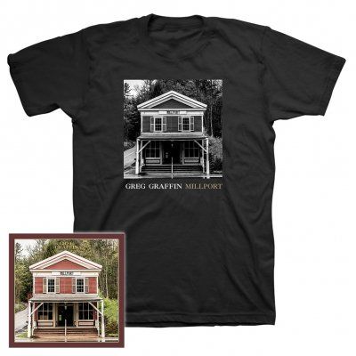 Greg Graffin - Millport | CD+T-Shirt Bundle